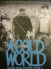 Cold World, How the Gods Chill, Full Page Promotional Ad