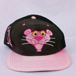 Vintage 1993 Pink Panther American Needle Snapback Hat Blockhead Cap 90s Cartoon