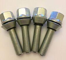 4 X M12X1.25 67mm LONG 42mm THREAD WOBBLE ALLOY WHEEL BOLTS FITS PEUGEOT 2 65.1