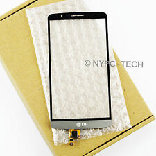 NEW Gray For LG G3 D850 D855 D851 LS990 Digitizer Touch Screen Replacement Parts