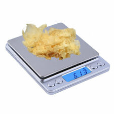 WH-I2000 500g x 0.01g LCD Digital Electronic Kitchen Scale for Food Weighing TE