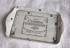 CHIC ANTIQUE, Nostalgie Tablett * LA CUISINE *  Shabby , Brocante, Franske,
