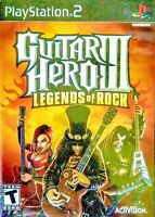Guitar Hero III 3 Legends of Rock PS2 Disc-Only Tested Sony Playstation 2 PS2
