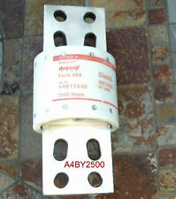 A4BY2500 FUSE  2500 AMPS 600 VOLTS A4BY 2500 FORM 480