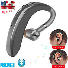 Bluetooth Earpiece Wireless Headset Headphone for Driver Office Business
