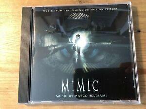 MIMIC (Marco Beltrami) OOP 1997 Varese Score Soundtrack OST CD EX