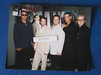 """Original Press Photo - 10""""x8"""" - Boyzone - 1997 - Bean Premiere"""