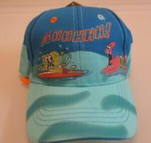 NWT 2005 Spongebob Squarepants AHHHH! Toddler boys Baseball Cap Hat Sz 51cm