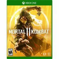 MORTAL KOMBAT 11  Xbox One Brand New Sealed