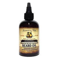 100% Natural Jamaican Black Castor Beard Oil 4oz By Sunny Isle No Salt Added