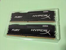 Kingston HyperX Fury Black 8 GB (2 x 4 GB) DDR4-2133 CL14 Memory