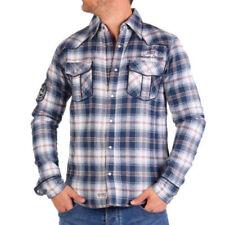 Cappotti e giacche da uomo blu Geographical Norway taglia XL