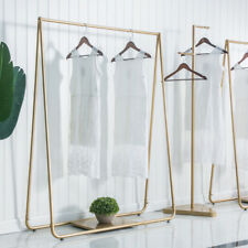 Gold Clothing retail shop commercial / home garment display rack GST Included