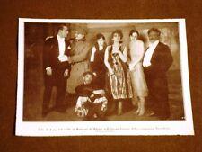 Teatro Manzoni di Milano nel 1928 Jolly di Luigi Chiarelli Compagnia Niccodemi