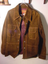 MONTURA BY CAMPUS LETAHER JACKET SOUTHWESTERN COWBOY STYLE - MENS LARGE