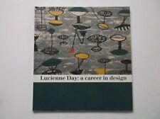 LUCIENNE DAY FABRICS CERAMICS INTERIOR DESIGNER HEAL'S HARRIS BOOK