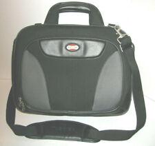 "Toshiba - 14"" x 17"" Laptop Shoulder/Messenger Bag Black my HP 17"" fits perfect."