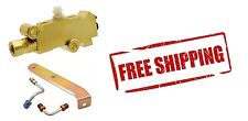 Brass Disc Drum Brake Proportion Combination Valve WITH Bracket & Lines NEW