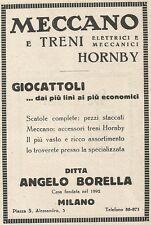 Z2363 MECCANO e Treni elettrici HORNBY - Pubblicità 1928 - Vintage advertising