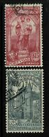 Portugal SC# 531 & 532, Used, Hinge Remnant, 531 some creasing, see notes -S4736