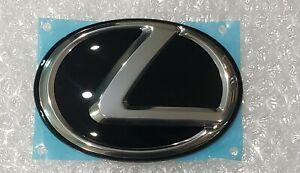 FITS NEW Lexus IS250 IS350 Black Rear Trunk Center L Emblem 06 07 08 09 10