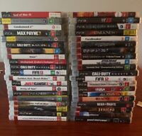PS3 Sony PlayStation 3 PS3 Various Games To Choose From
