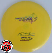 Used 7/10 Innova Star Destroyer, 175g (Paul McBeth 4x, distance driver, yellow)