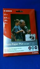 Canon Photo Paper Plus semi Gloss (SG-101)  (satin)20 Pack Inkjet Printers. (b37