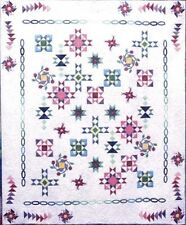 """New Pieced and Applique Quilt Pattern SANTA CLAUS LANE  34/""""x 34/"""""""