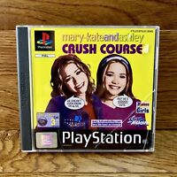 PlayStation 1 One PS1 Mary Kate and Ashley Crush Course PAL Complete Mint Disc