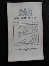 Periodo edoardiano Ordnance Survey Mappa di Inveraray (Argyll and Bute) 1911-FOGLIO 22