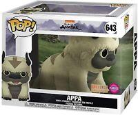 Funko Pop Avatar The Last Airbender Appa 6 inch Flocked Exclusive Box Dmg