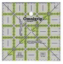 "Omnigrip 5"" Square Non-Slip Ruler, 5 x 5 inches, RN5"