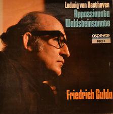 """BEETHOVEN - APPASSIONATA - WALDSTEINSONATE - FRIEDRICH GULDA  12""""  LP (L258)"""