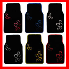 6 COLOR AVAILABLE HEART LOVE STORY CARPET FLOOR MATS (PREMIUM)AAA+