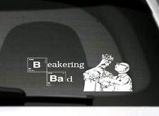 Bicchiere & il Dottor Bunsen honeydew, MUPPETS, Breaking Bad Divertente Adesivo Auto