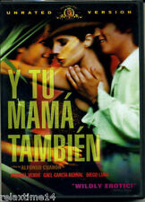 Y Tu Mama Tambien Unrated Widescreen vers. Dvd Spanish w/ English SubTitles