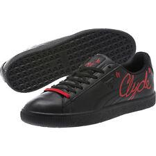 PUMA Big Kid's Clyde Signature 366226 01 Black Size US 7