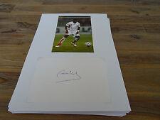JOSE CLAYTON - TUNESIA WK - PICTURE + INDEXCARD - ORIGINAL SIGNED ** (2 items)