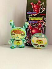 Kidrobot Dunny 2010 Fatale vinyl figure by Julie West 3-inch