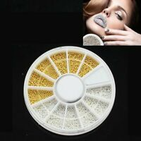 GOLDEN PEACOCK MIX CAVIAR //ACCENT BEADS-CRAFT//NAIL ART IDEAL FOR CAVIAR MANICURE
