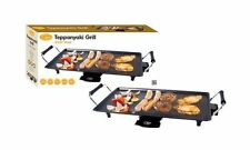 New 2000W Electric Teppanyaki Table Grill Griddle BBQ Skillet Hot Plate Kitchen