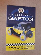 CART'COM GASTON LAGAFFE FRANQUIN AROUTCHEFF FIAT 509