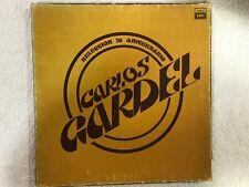 CARLOS GARDEL SELECCION 20 ANIVERSARIO 3 LP COMO NUEVOS EN CAJA EXCLUSIVA EMI