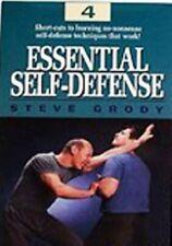 Essential Street Self-Defense #4 Dvd Steve Grody jeet kune do kung fu Mma