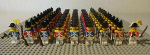 (D8) LEGO Figuren Rotröcke Blauröcke pi060 pi061 pi062 6263 6271 6274 6276 6277