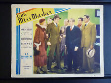 1934 LITTLE MISS MARKER - LOBBY CARD - HORSERACING - DAMON RUNYON - VINTAGE