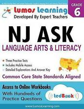 NJ ASK Practice Tests and Online Workbooks: Grade 6 Language Arts and Literacy,