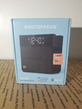 Soundfreaq Sound Rise Bluetooth Wireless Speaker, Alarm Clock Radio, USB Charger