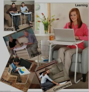 ADJUSTABLE TABLE MATE II  Folding Table Heavy Duty Spill Proof iPad Bed Laptop